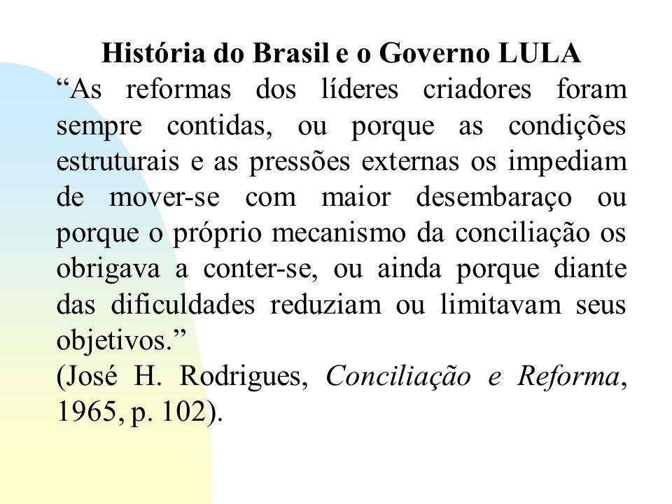 História do Brasil e o Governo LULA