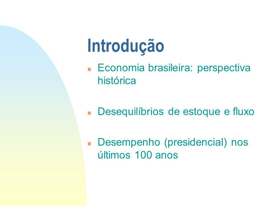 Introdução Economia brasileira: perspectiva histórica