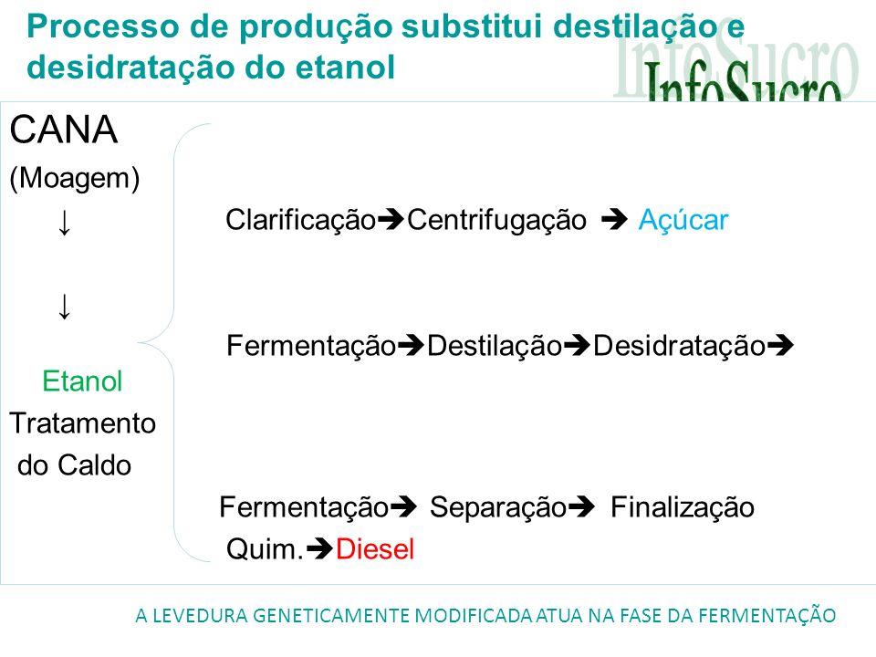 Processo de produção substitui destilação e desidratação do etanol