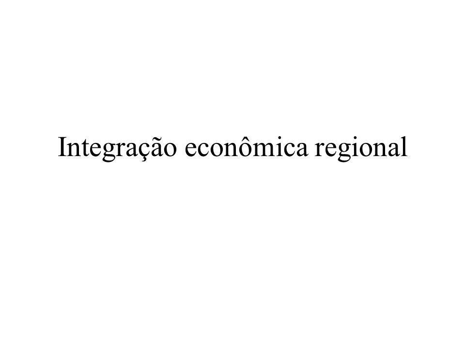 Integração econômica regional
