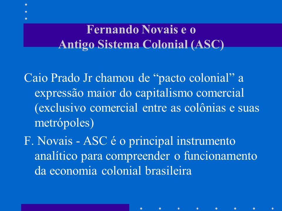 Fernando Novais e o Antigo Sistema Colonial (ASC)