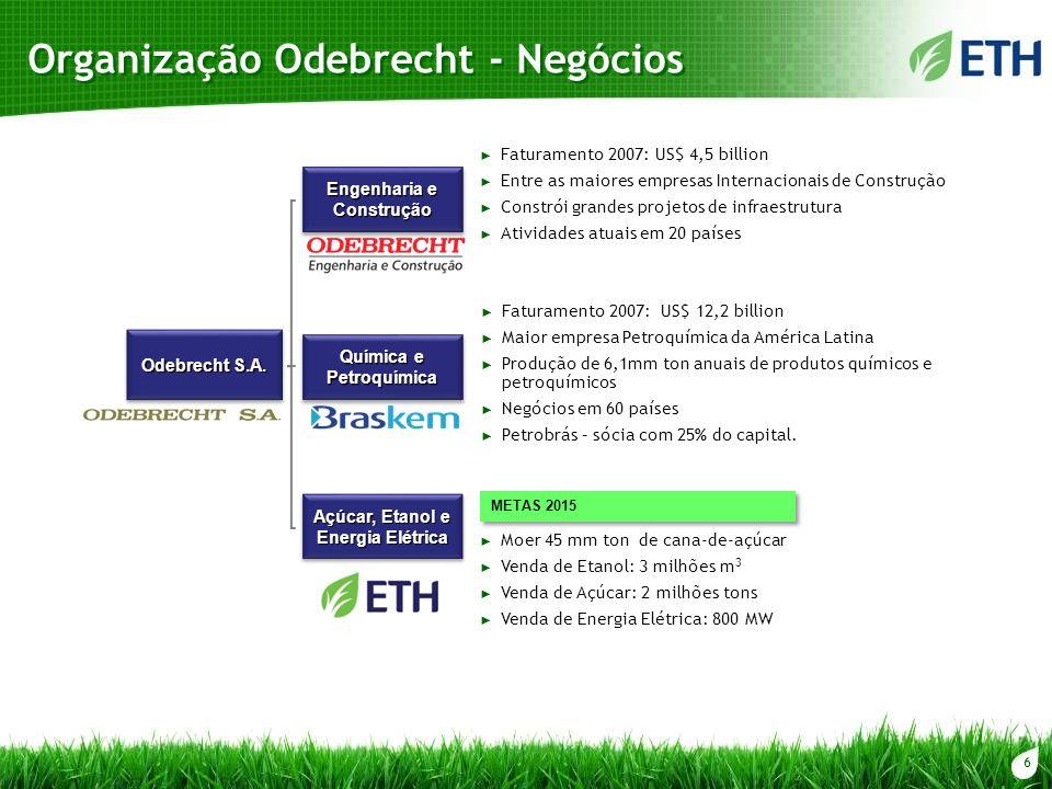 Organização Odebrecht - Negócios