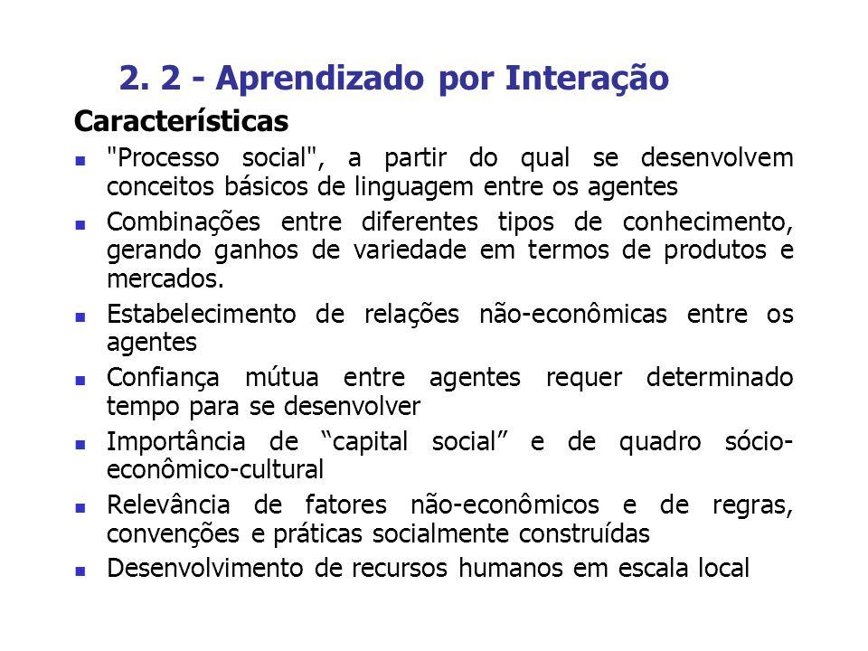 2. 2 - Aprendizado por Interação