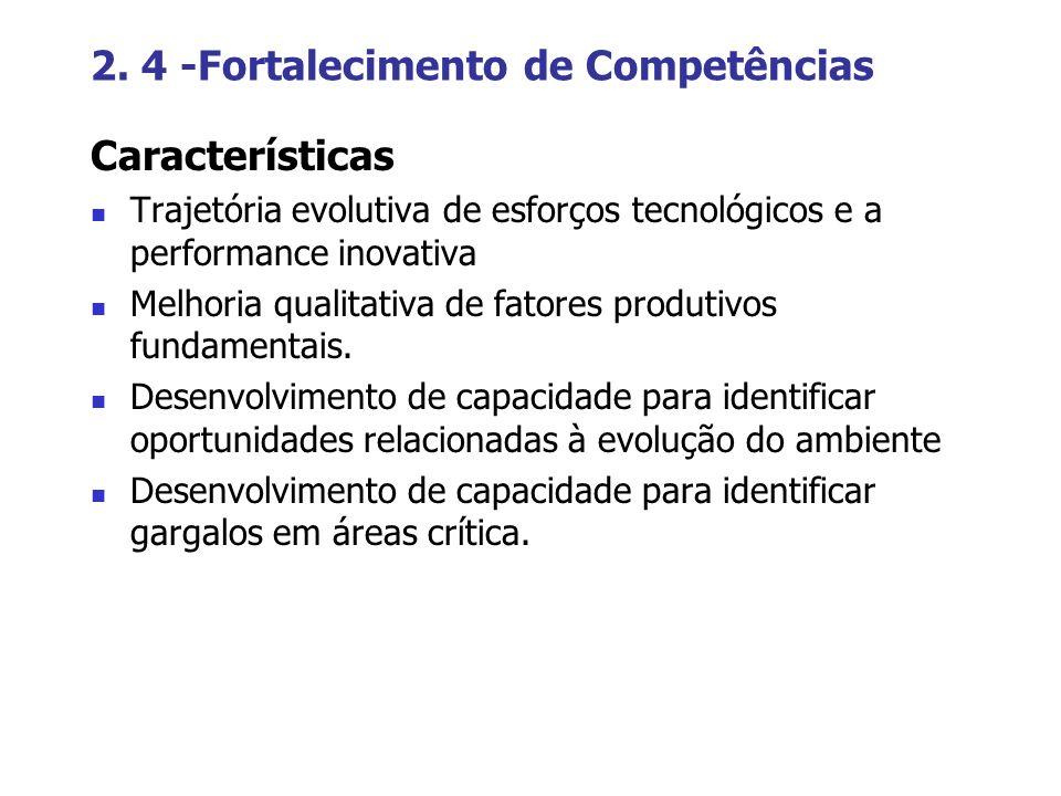 2. 4 -Fortalecimento de Competências