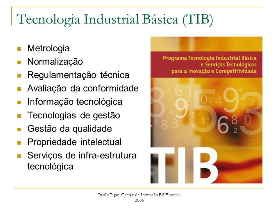 Tecnologia Industrial Básica (TIB)