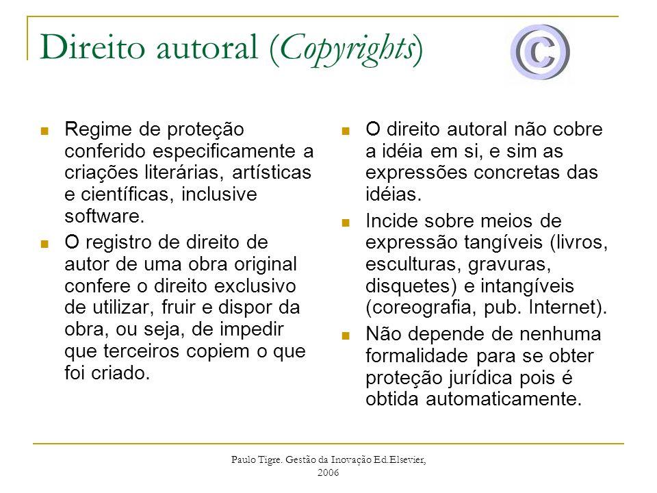 Direito autoral (Copyrights)