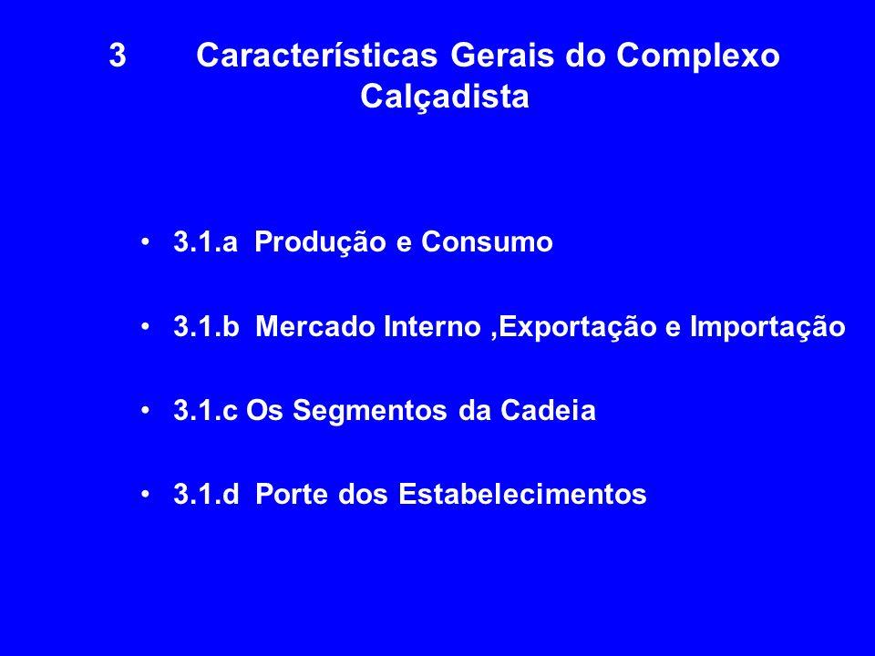 3 Características Gerais do Complexo Calçadista