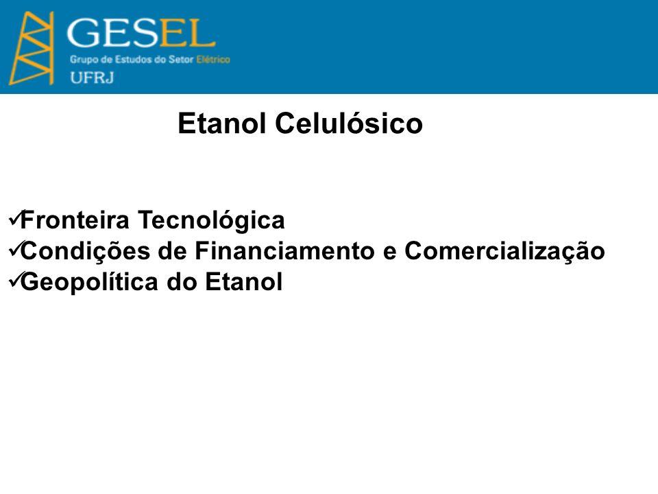 Etanol Celulósico Fronteira Tecnológica