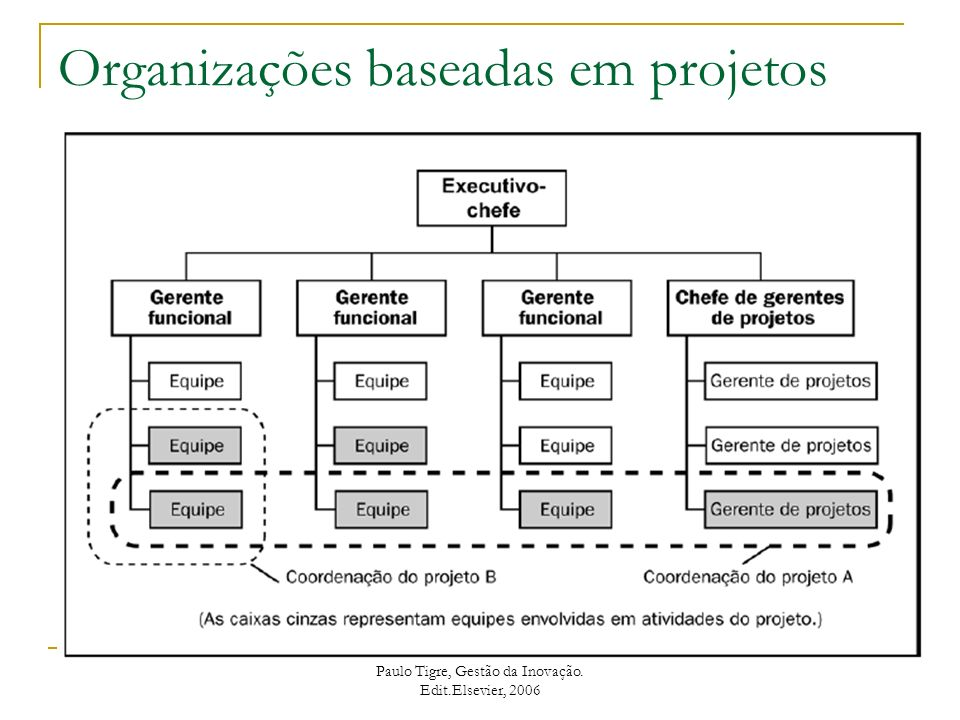 Organizações baseadas em projetos