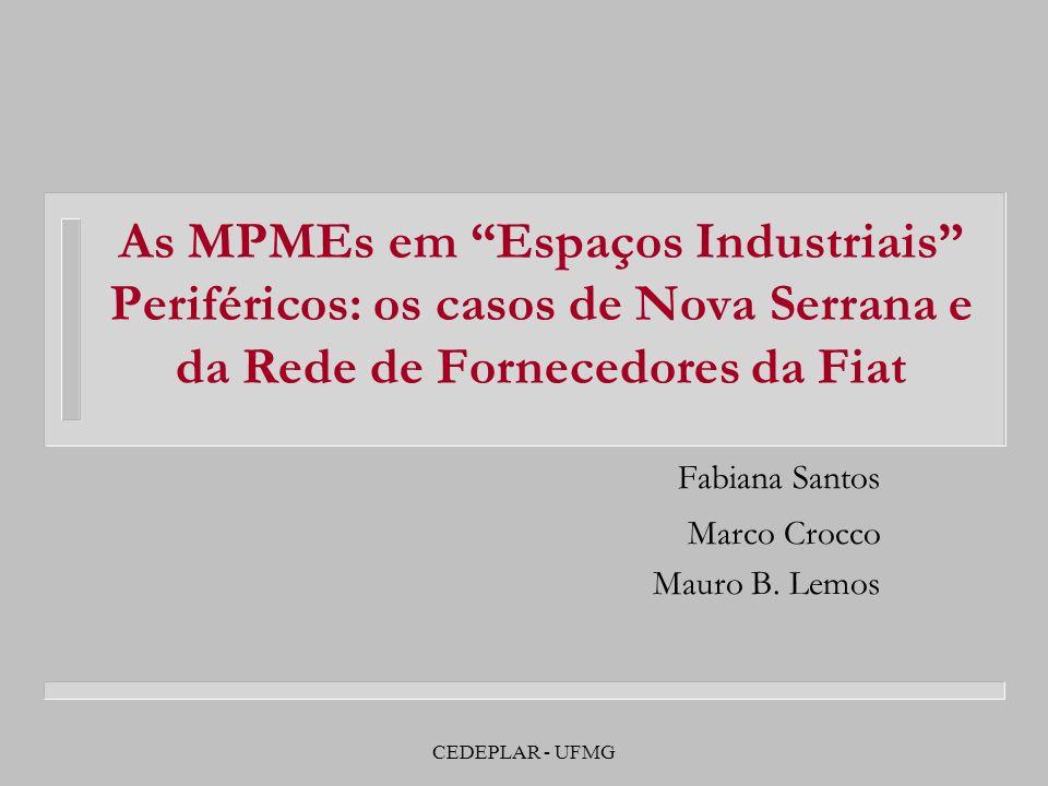 Fabiana Santos Marco Crocco Mauro B. Lemos