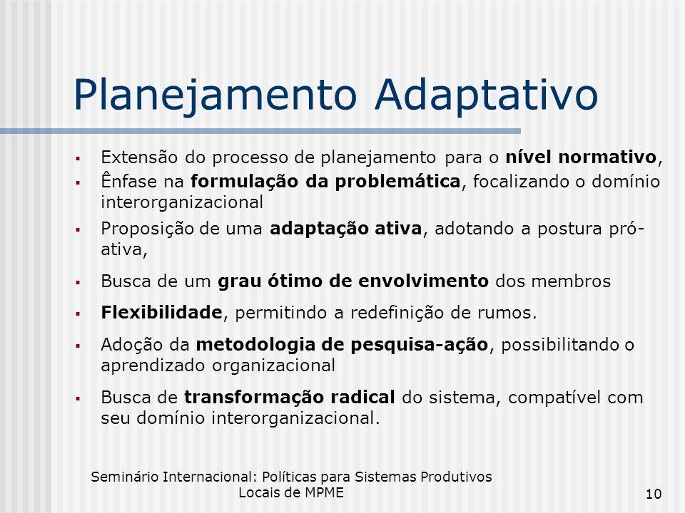 Planejamento Adaptativo