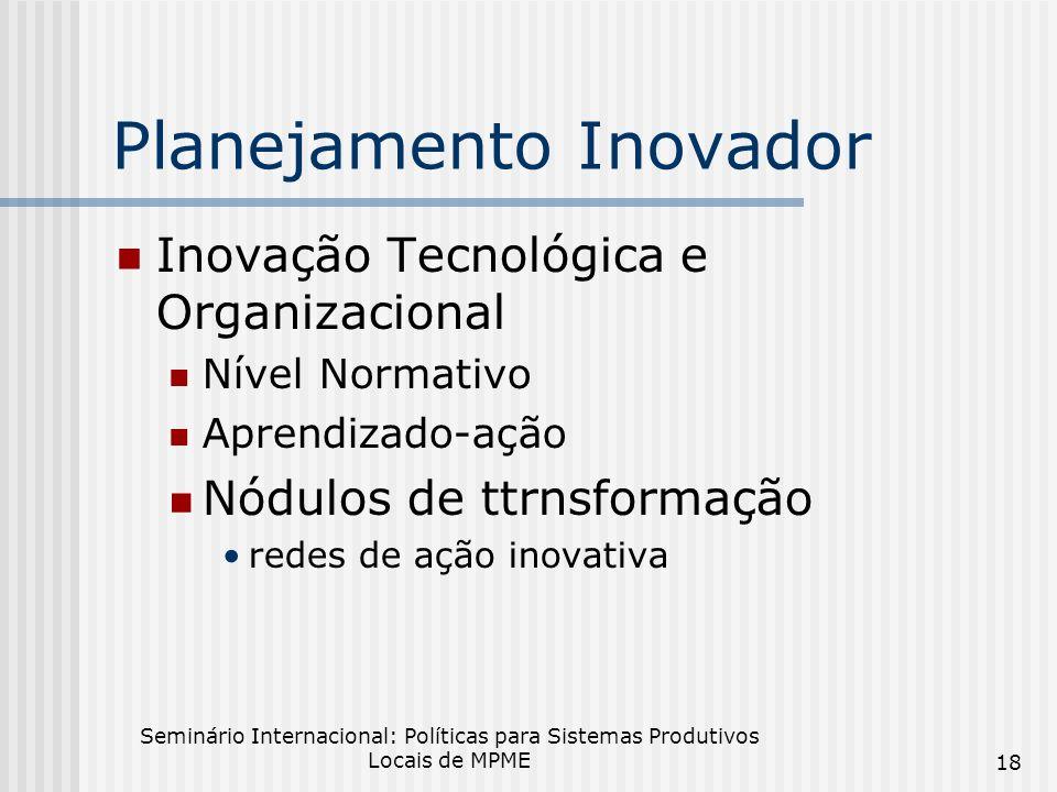 Planejamento Inovador