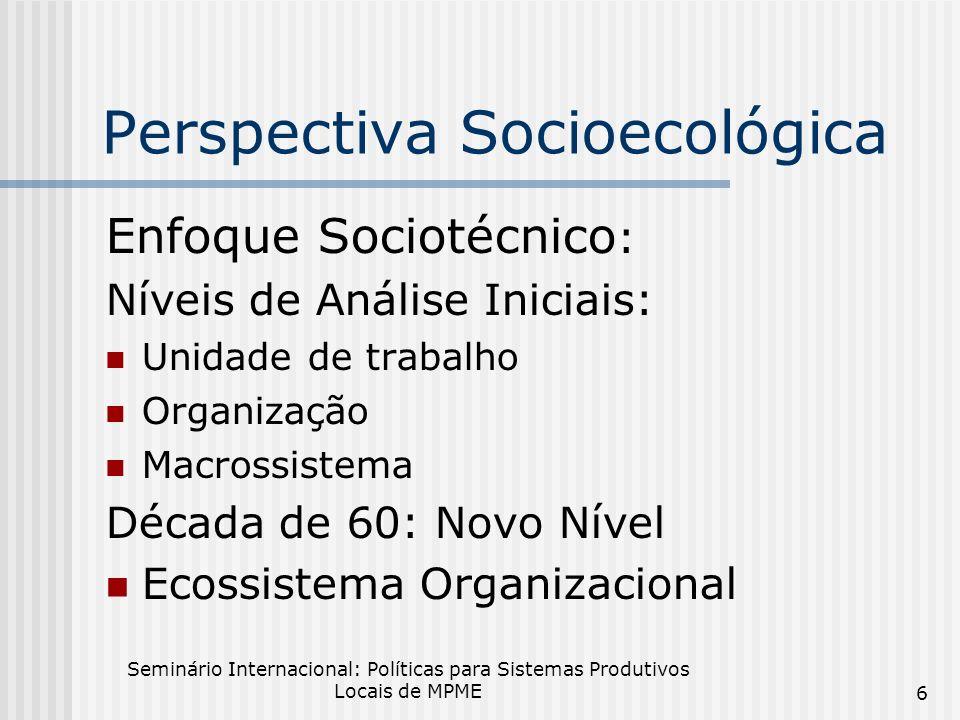 Perspectiva Socioecológica