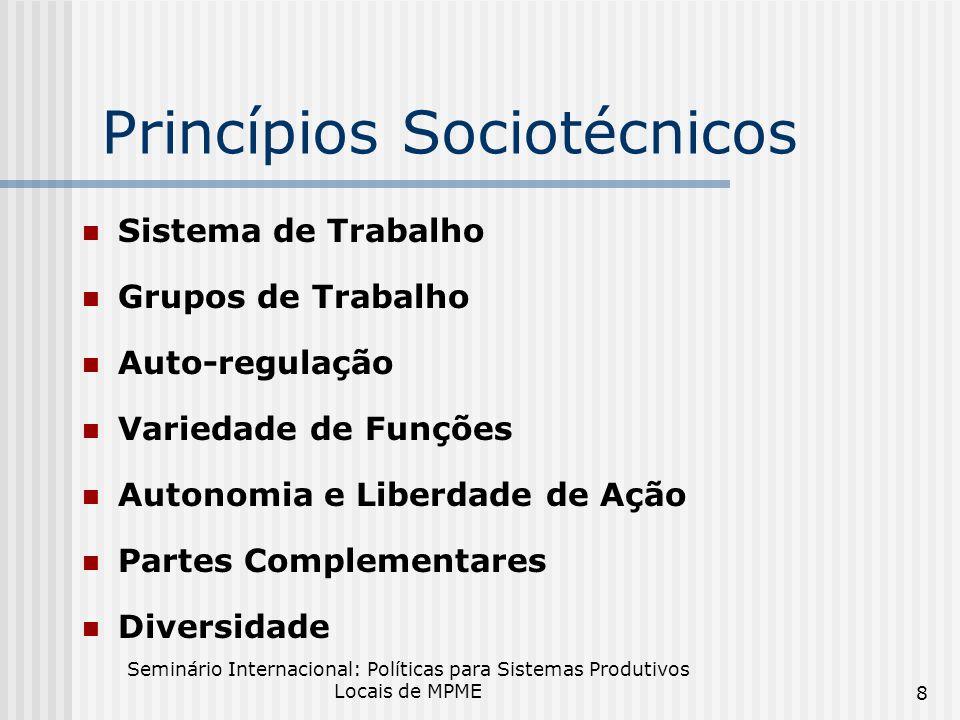 Princípios Sociotécnicos