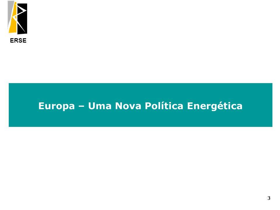 Europa – Uma Nova Política Energética