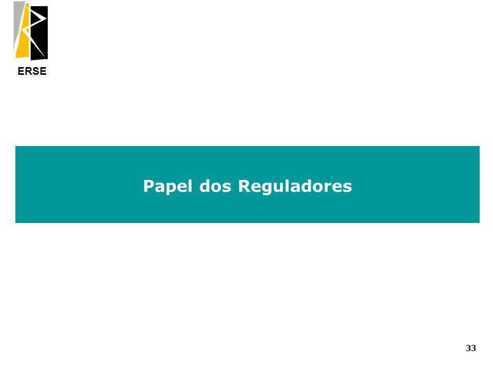 Papel dos Reguladores