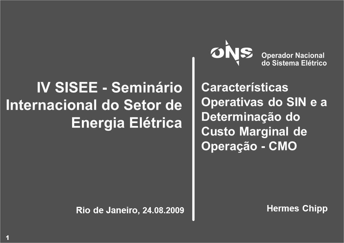 IV SISEE - Seminário Internacional do Setor de Energia Elétrica