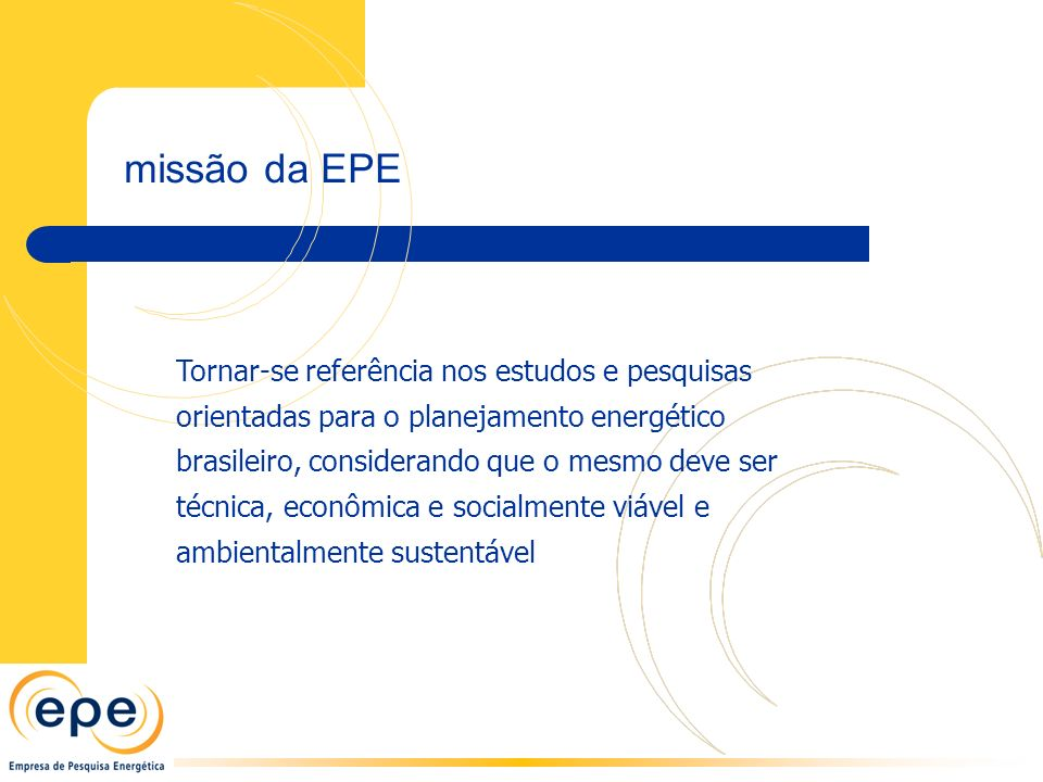 missão da EPE