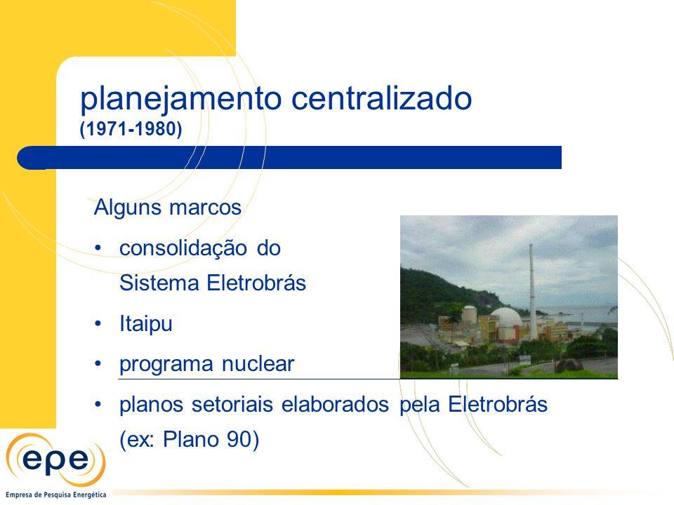 planejamento centralizado