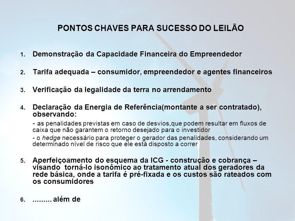 PONTOS CHAVES PARA SUCESSO DO LEILÃO