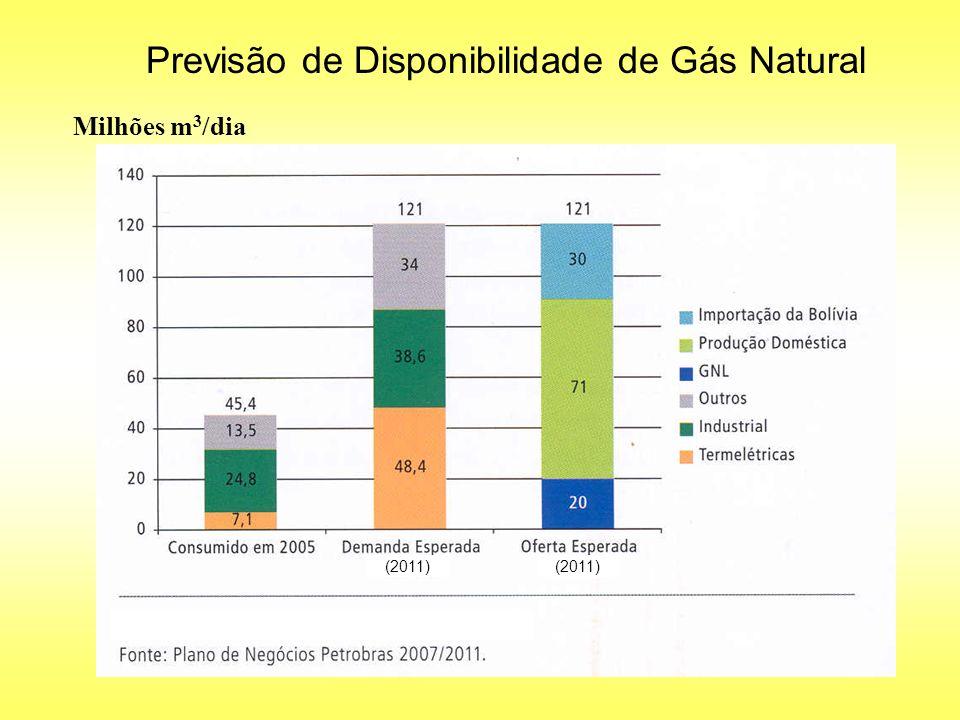 Previsão de Disponibilidade de Gás Natural