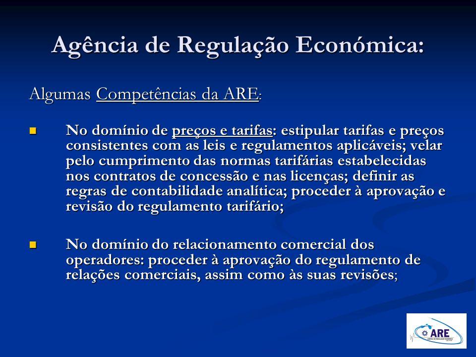 Agência de Regulação Económica: