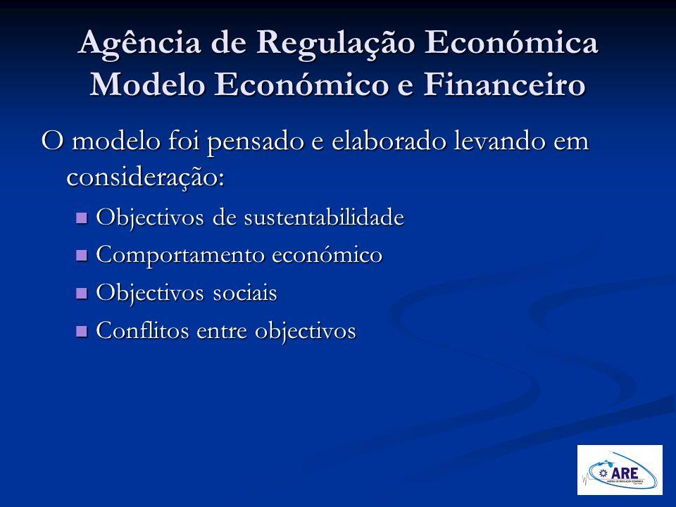 Agência de Regulação Económica Modelo Económico e Financeiro