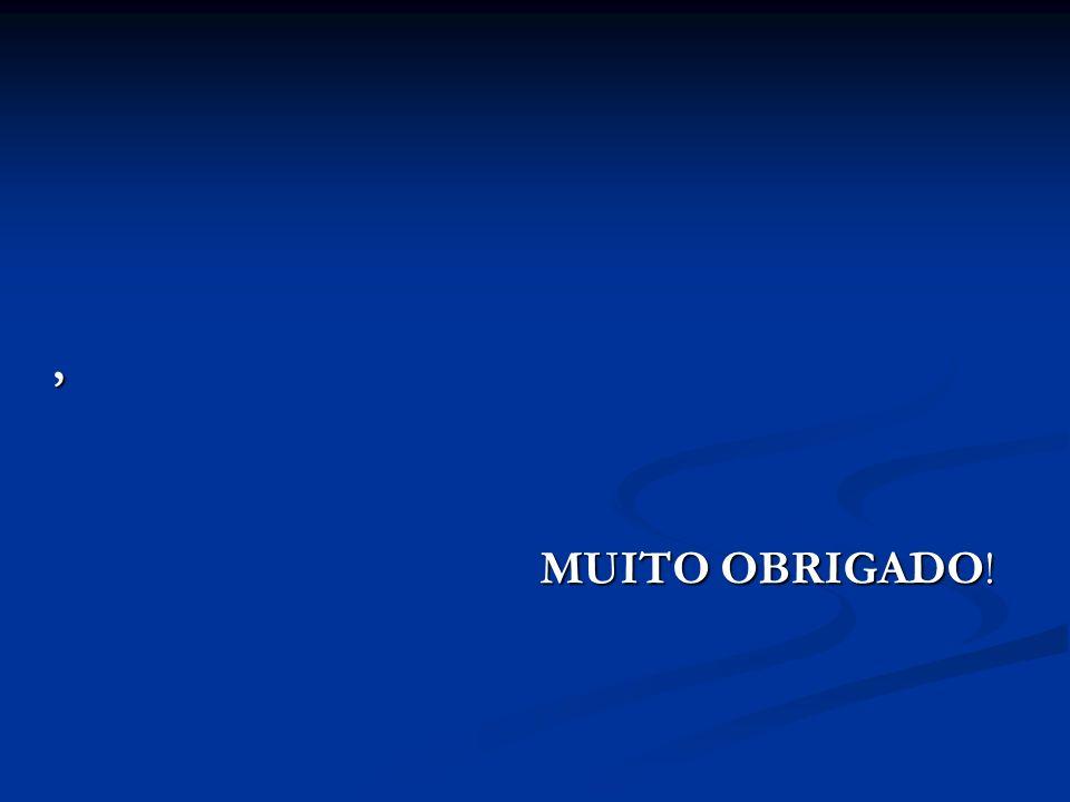 , MUITO OBRIGADO!
