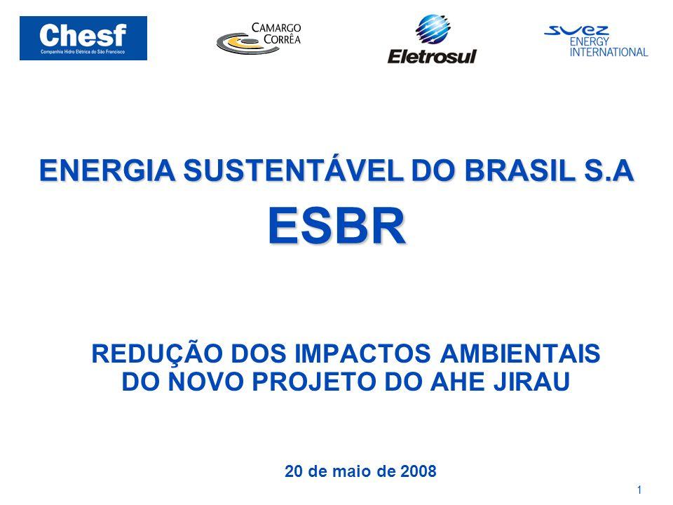 ENERGIA SUSTENTÁVEL DO BRASIL S.A ESBR