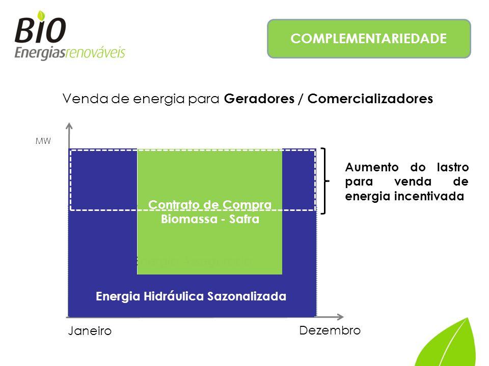 Energia Hidráulica Sazonalizada