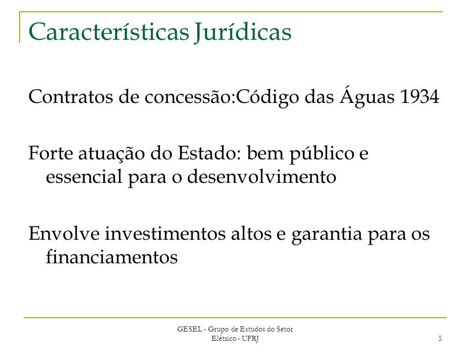 Características Jurídicas