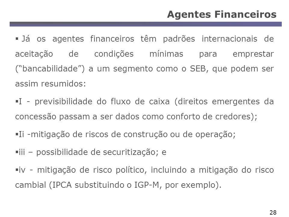 Agentes Financeiros