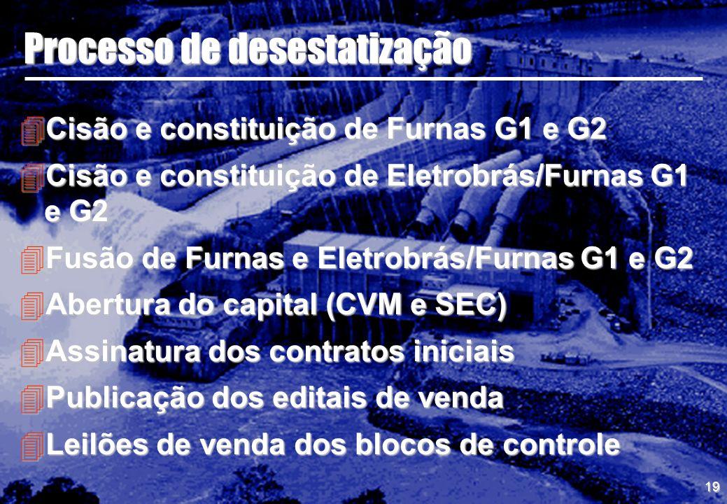 Processo de desestatização
