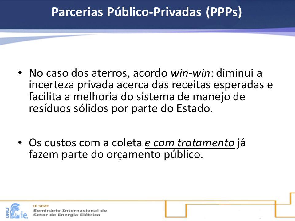 Parcerias Público-Privadas (PPPs)