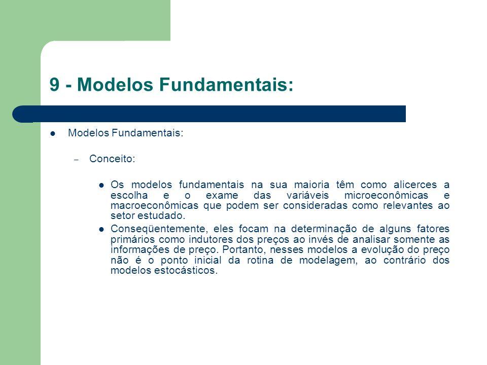 9 - Modelos Fundamentais: