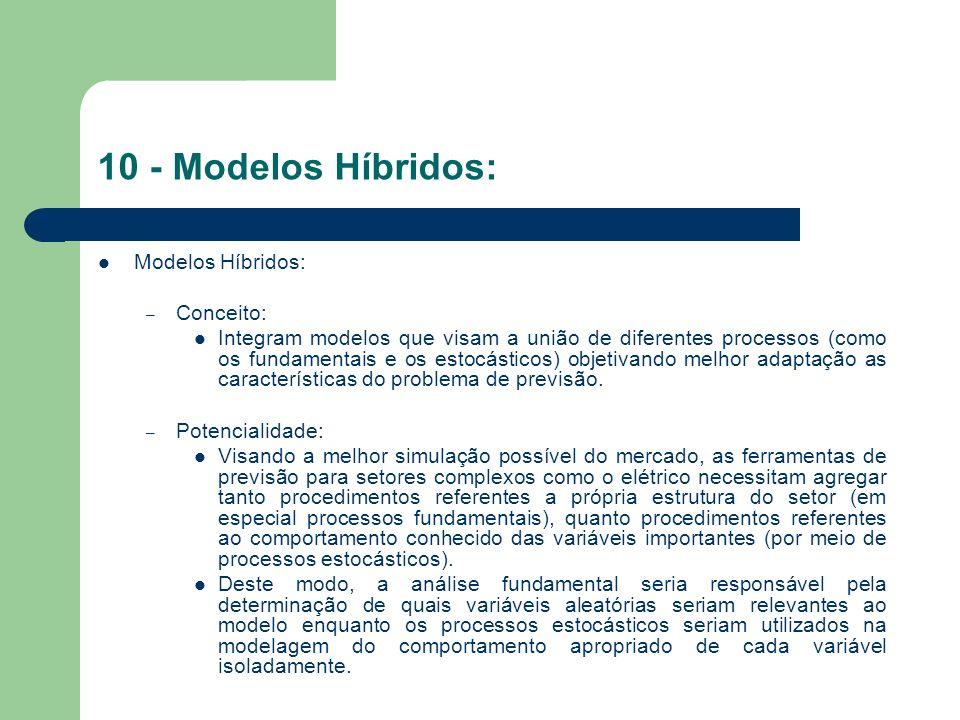 10 - Modelos Híbridos: Modelos Híbridos: Conceito:
