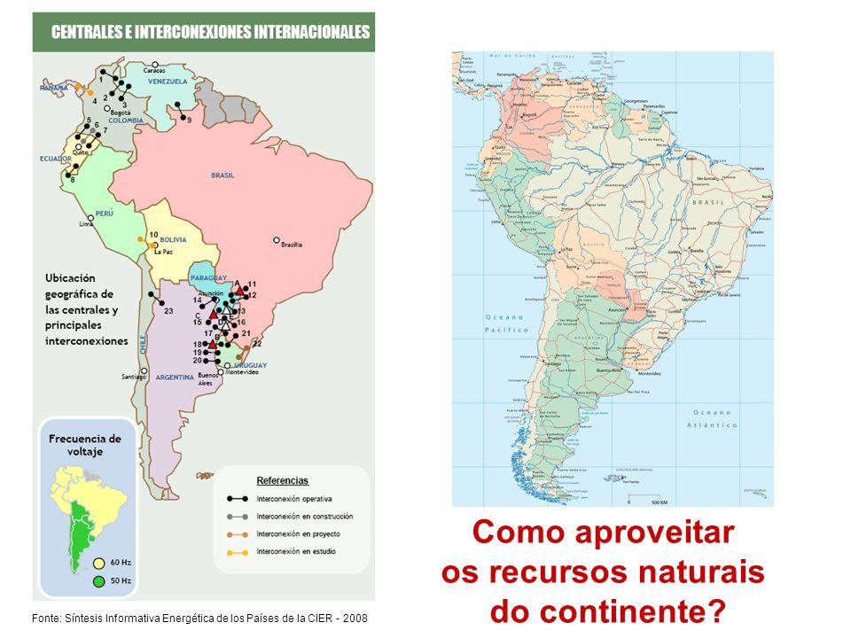 Como aproveitar os recursos naturais do continente