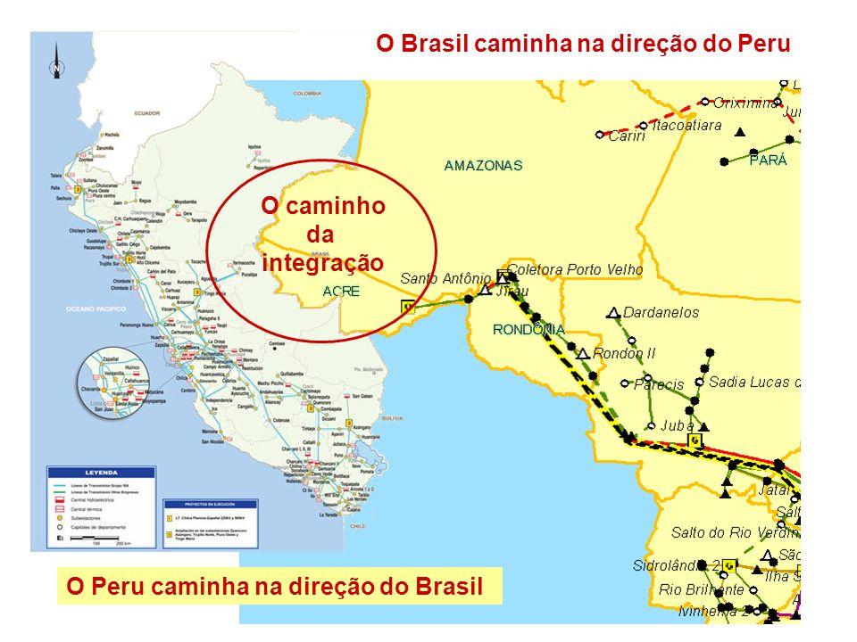 O Brasil caminha na direção do Peru