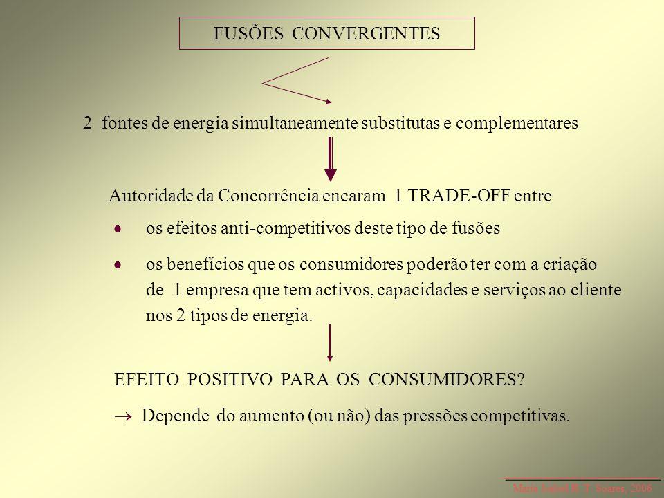 2 fontes de energia simultaneamente substitutas e complementares