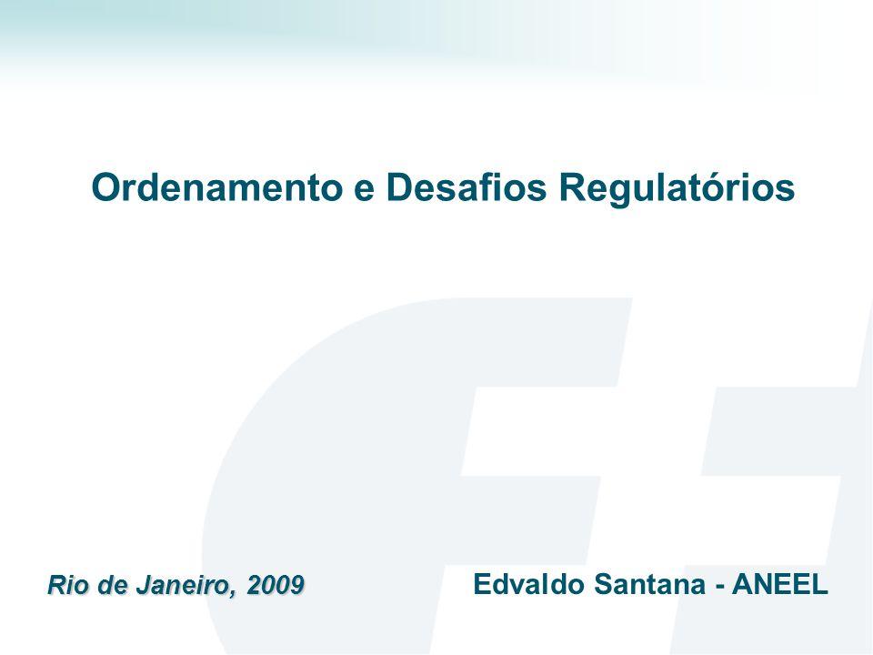 Ordenamento e Desafios Regulatórios