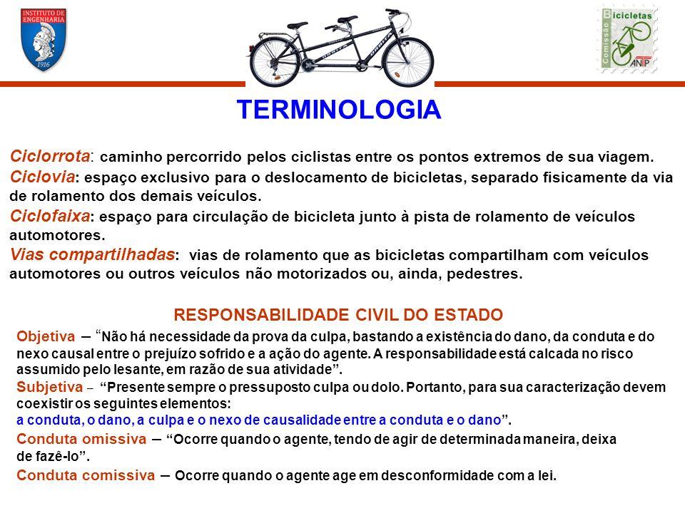 TERMINOLOGIACiclorrota: caminho percorrido pelos ciclistas entre os pontos extremos de sua viagem.