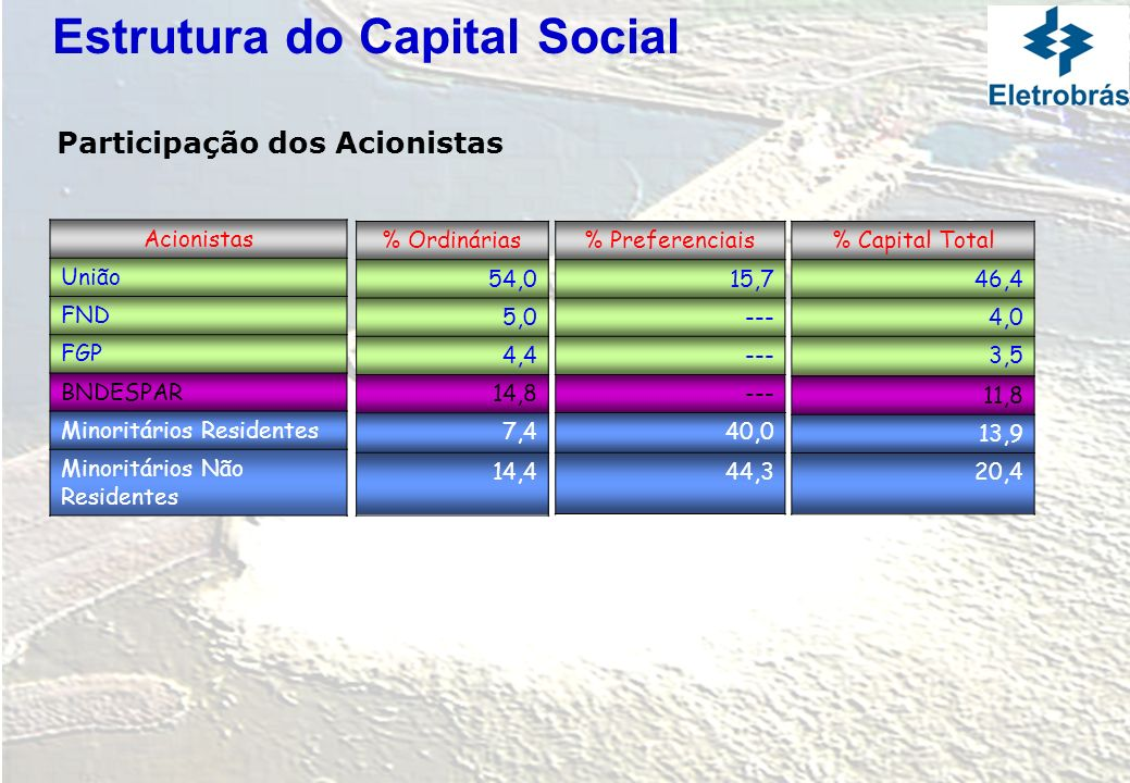 Estrutura do Capital Social