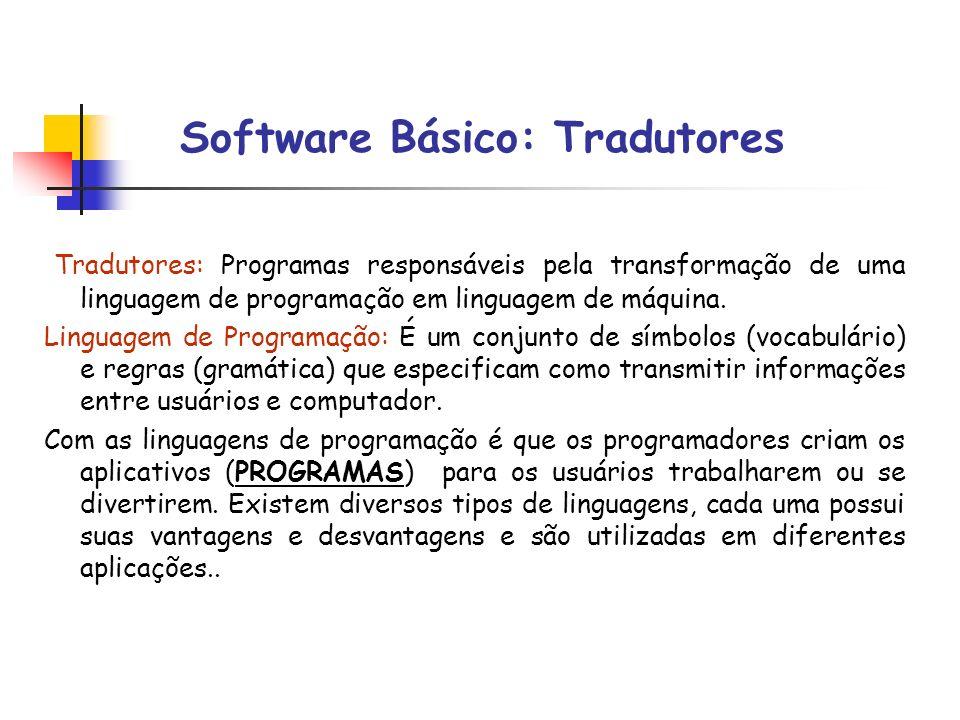 Software Básico: Tradutores