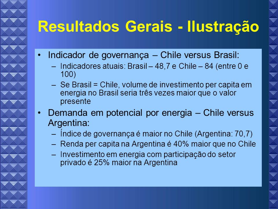 Resultados Gerais - Ilustração