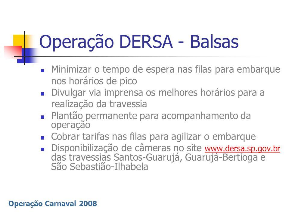 Operação DERSA - Balsas