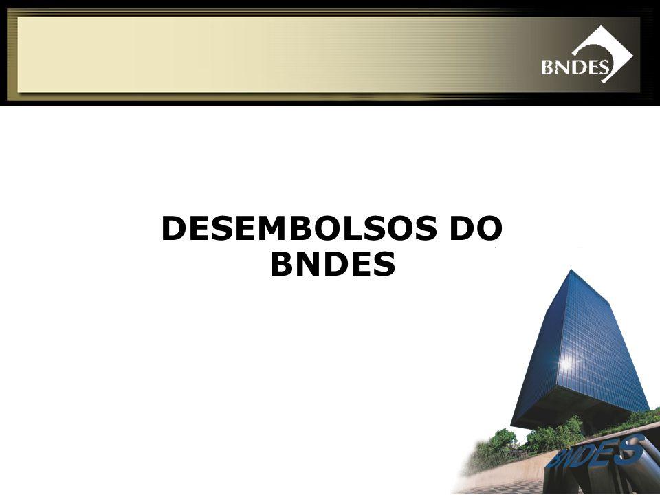 DESEMBOLSOS DO BNDES