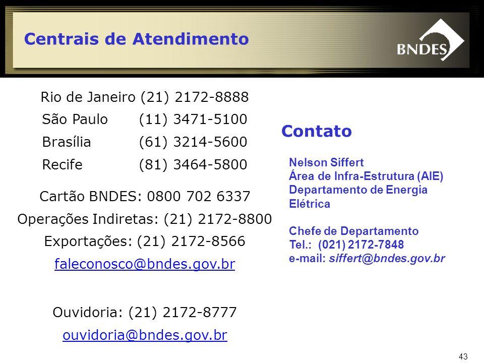 Operações Indiretas: (21) 2172-8800