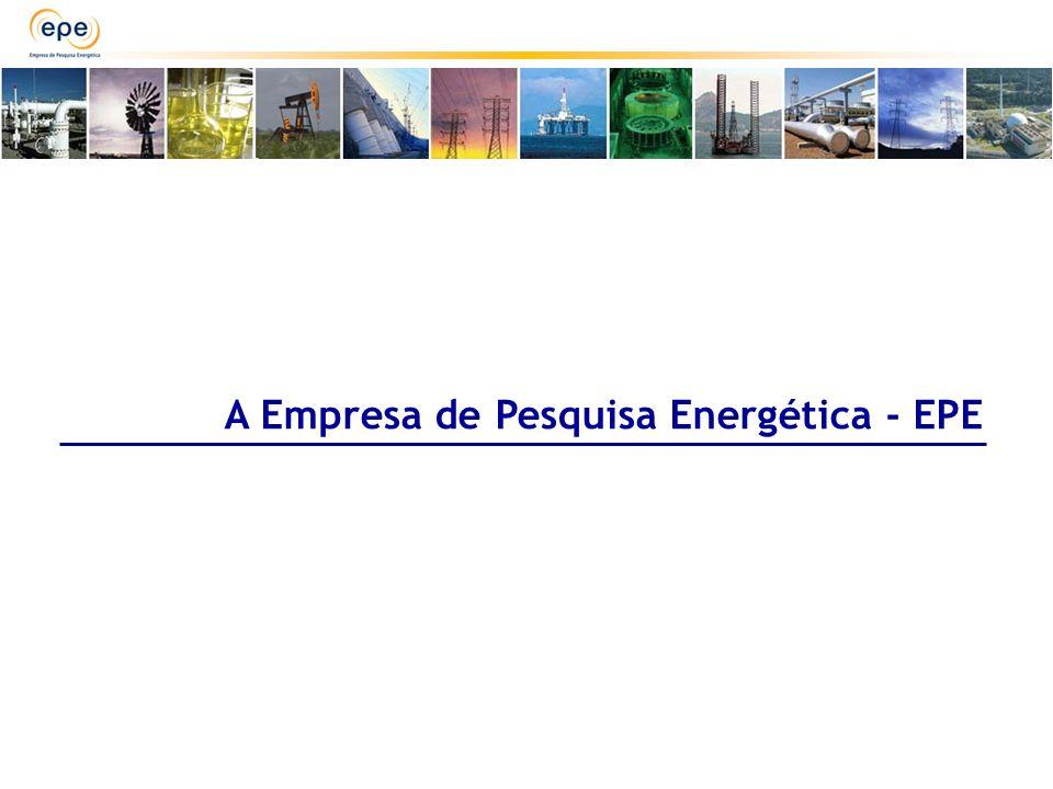 A Empresa de Pesquisa Energética - EPE
