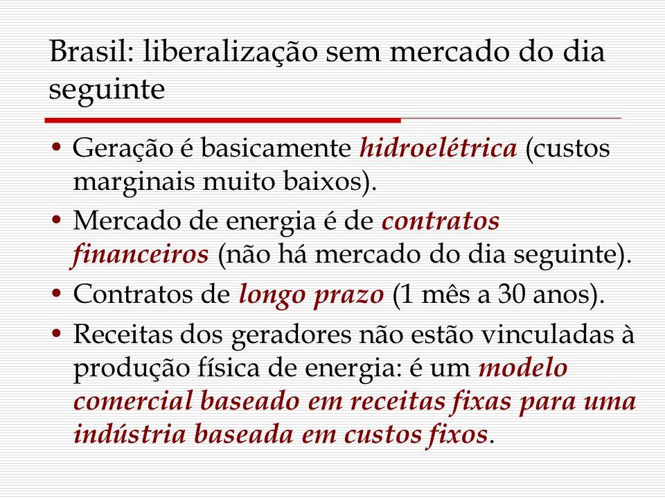 Brasil: liberalização sem mercado do dia seguinte