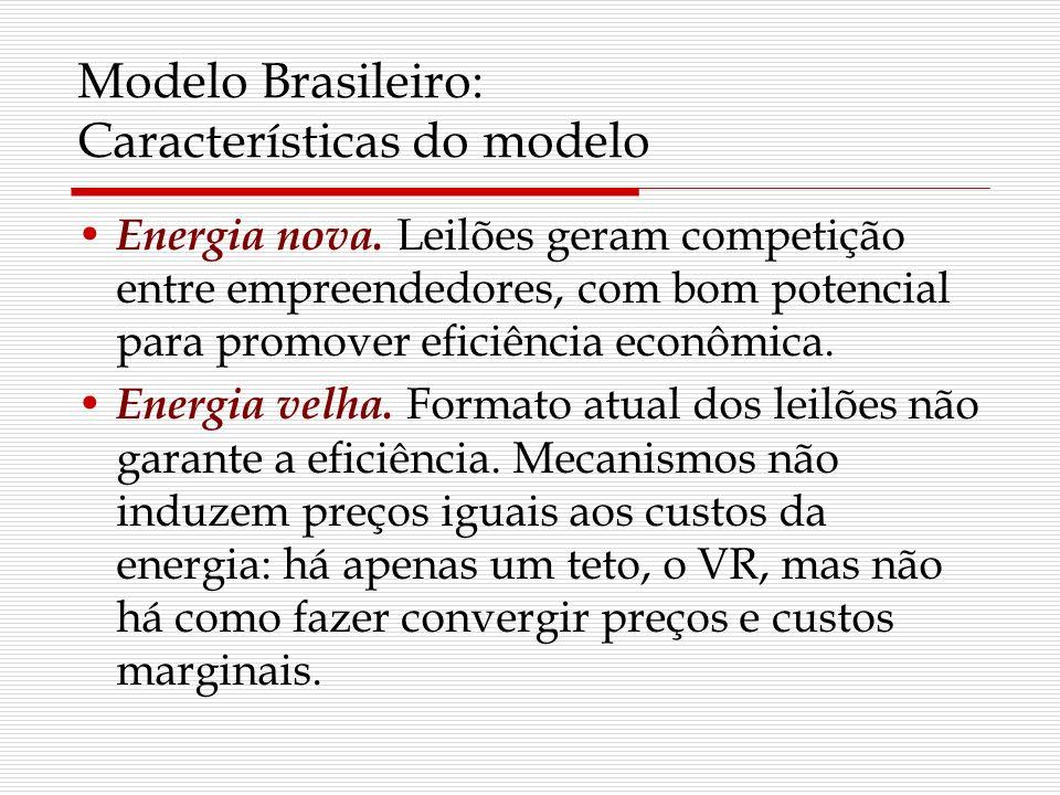 Modelo Brasileiro: Características do modelo